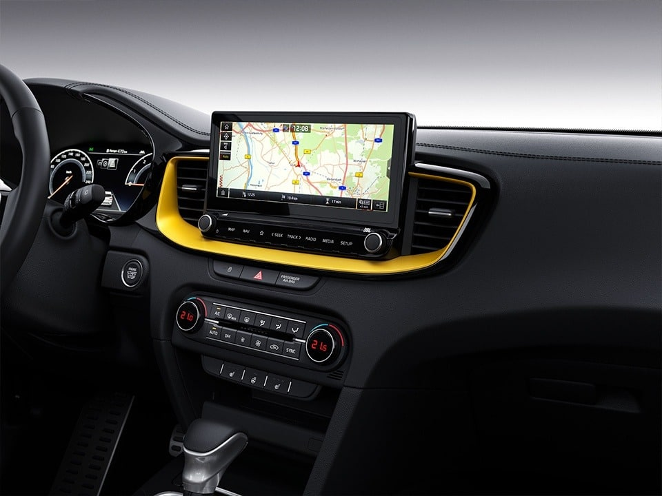 Kia XCeed  10,25-Zoll-Touchscreen-Navigation